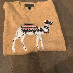 Jcrew Camel Sweater